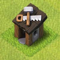 Builder's Hut Town Hall 8