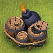 Riesenbombe rathaus level 6