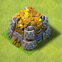 Goldlager rathaus level 6