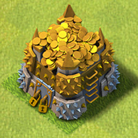 Goldlager rathaus level 8