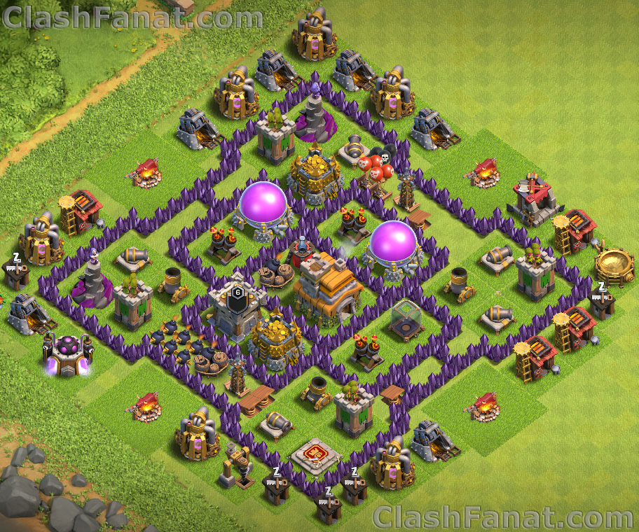 Town Hall 7 Base Best Th7 Layout Clash Of Clans 2019