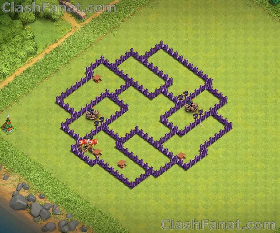 Town hall 7 base - Best TH7 layout Clash of Clans 2019
