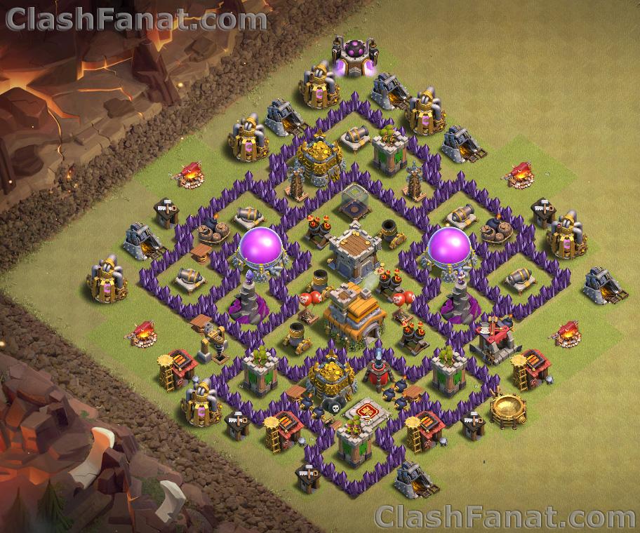 Town hall 7 war base
