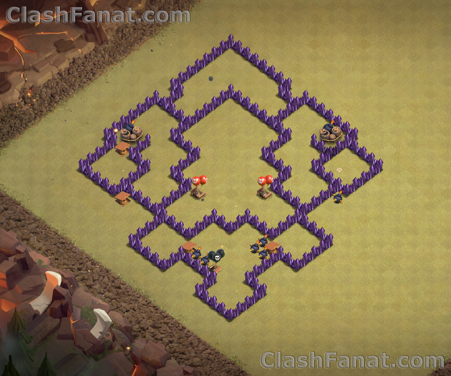 Town Hall 7 Base Best Th7 Layout Clash Of Clans 2018