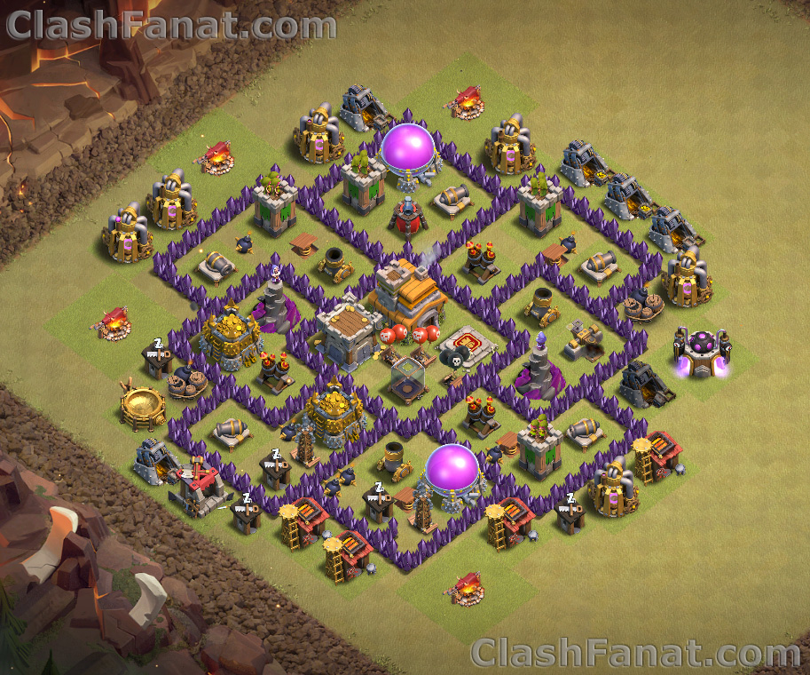 Clash Of Clans Best Town Hall Lvl 7 Base Gallery