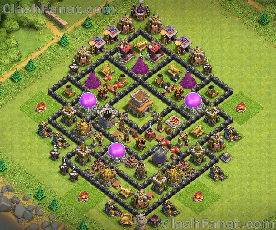 Rathaus level 8 verteidigung base