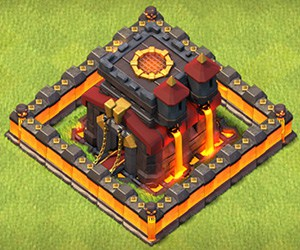 COC RH 10 Base Clash of Clans