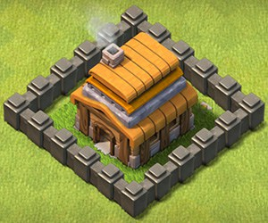 COC Base TH4 Clash of Clans