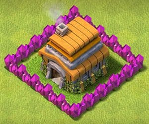Town hall 6 base