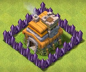 Town hall 7 base