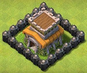 Town hall 8 base