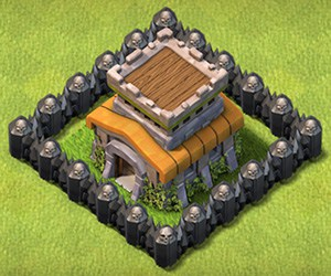 COC Base TH8 Clash of Clans