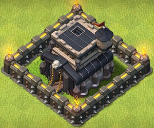 COC Base TH9 Clash of Clans