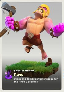 Raged Barbarian Clash of Clans