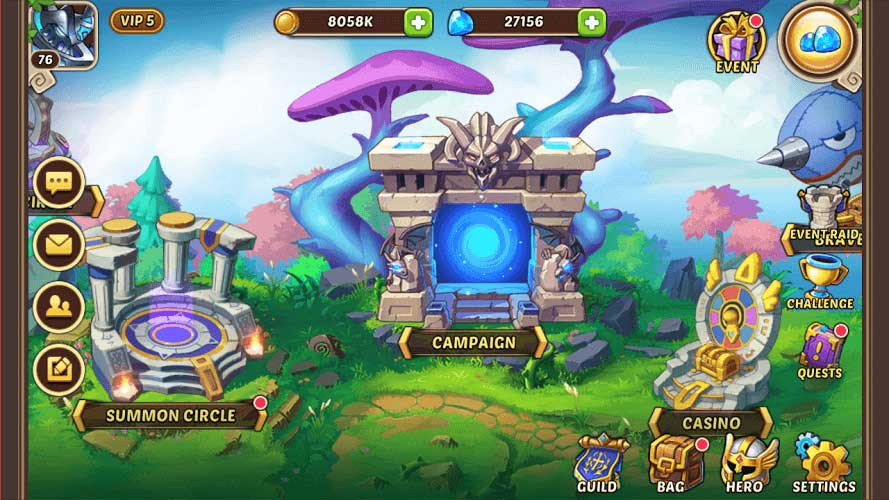Idle Heroes on PC