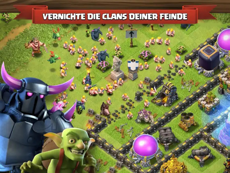 Clash of Clans auf dem PC